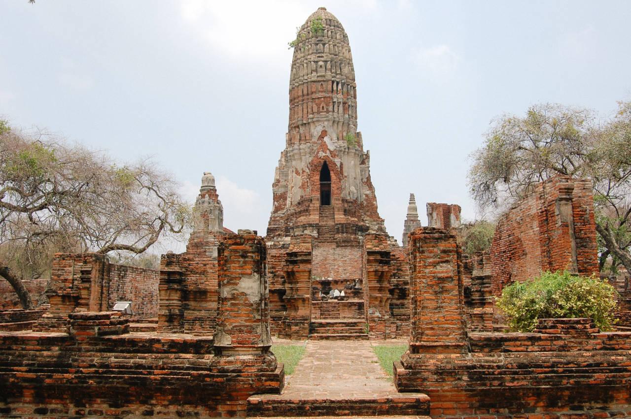 アユタヤの仏教寺院 ワット・プラ・ラーム