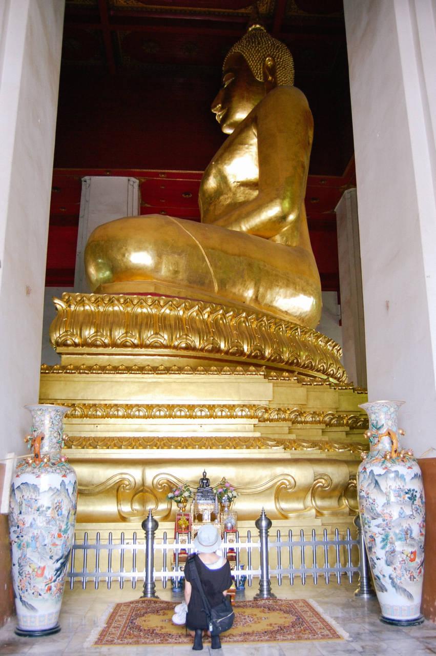 アユタヤの巨大仏像