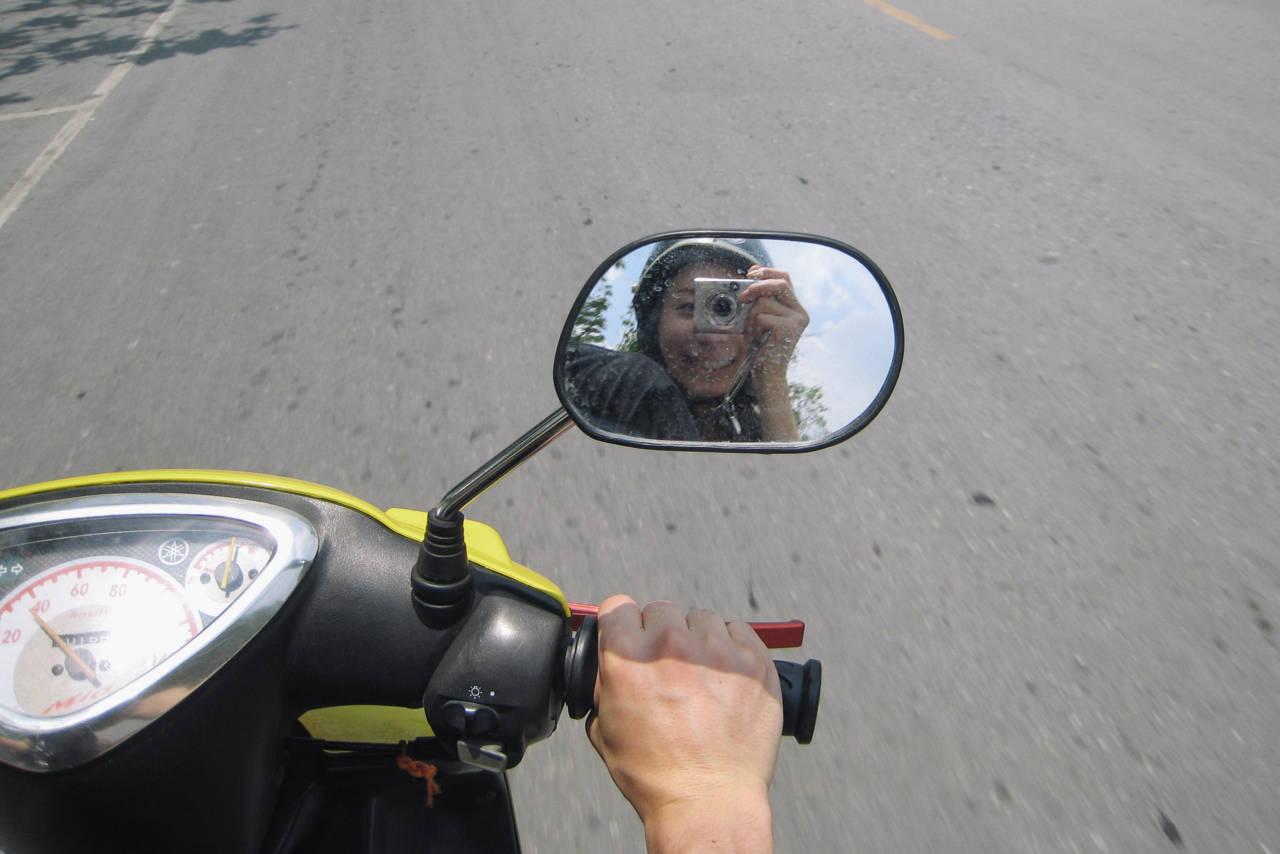 アユタヤのレンタルバイク