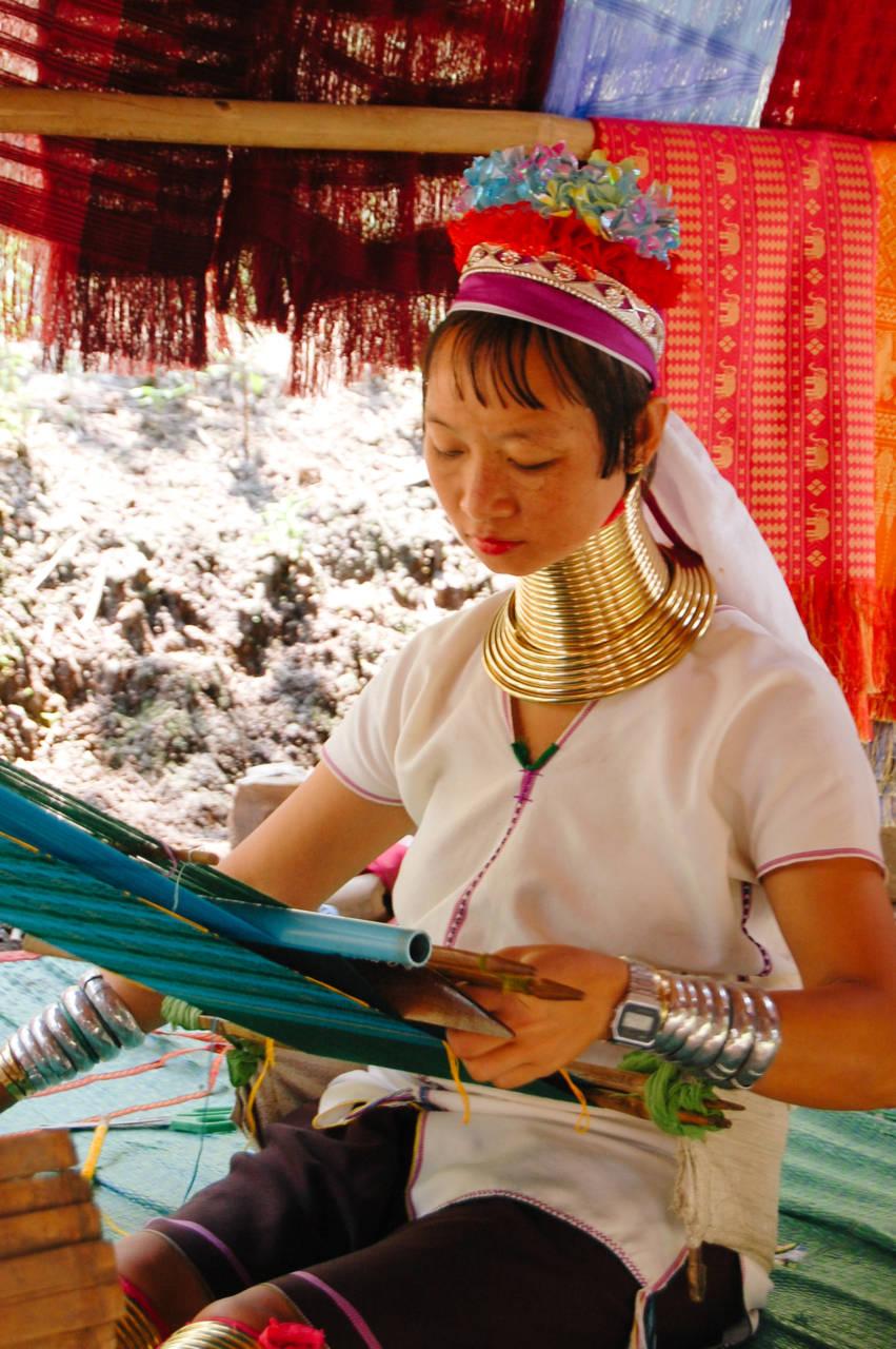 首長族の女性