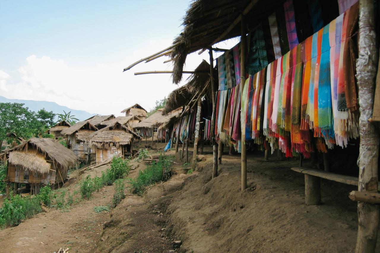 首長族の集落