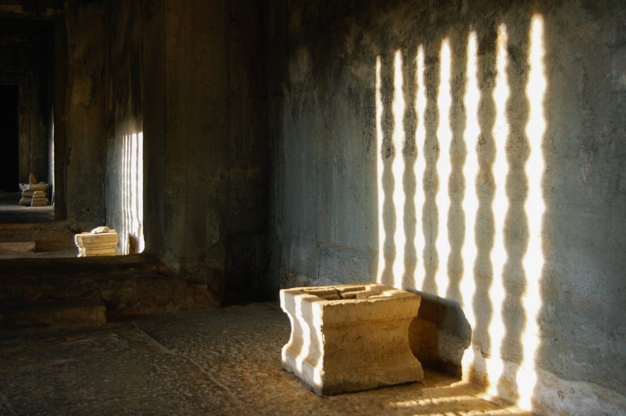 アンコールワット 光と影