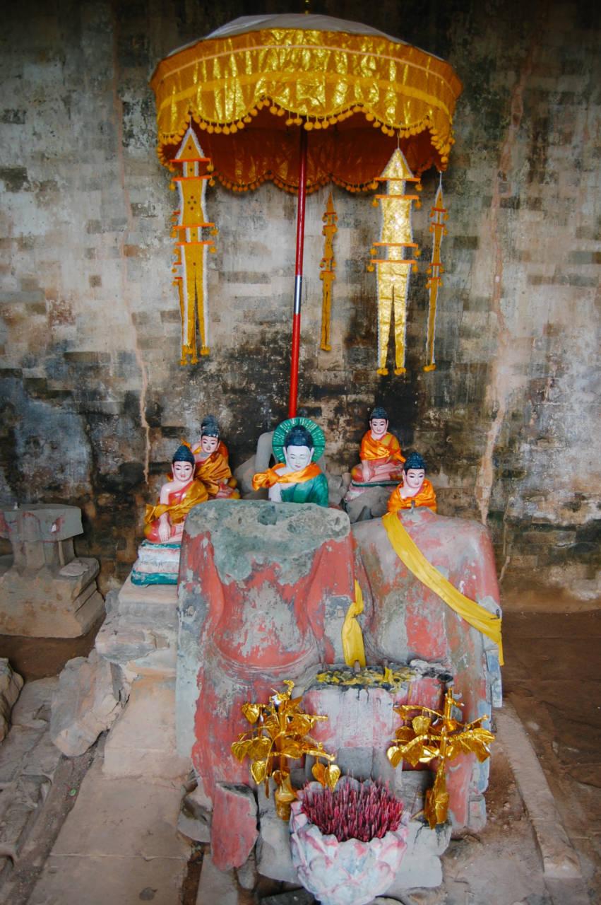 プレ・ループの仏像
