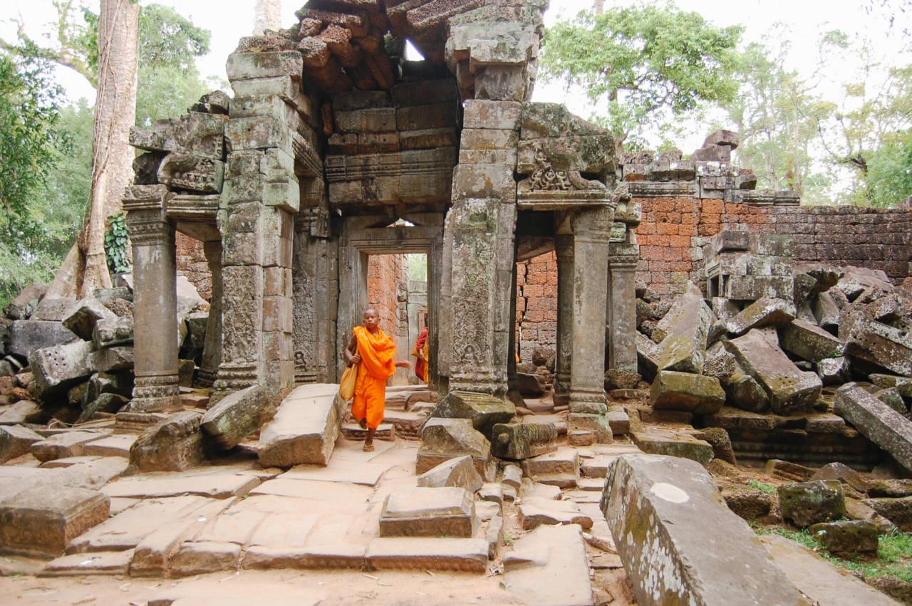 タ・プロームの僧侶
