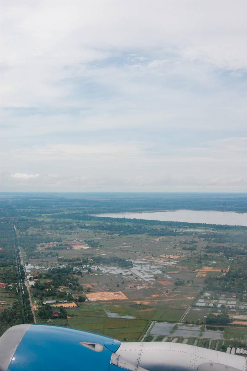 西バライの大貯水池
