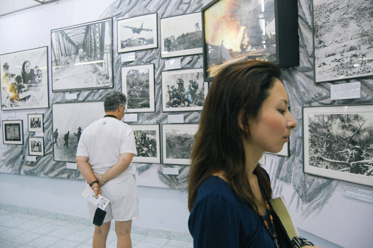 ホーチミン 戦争証跡博物館の展示写真