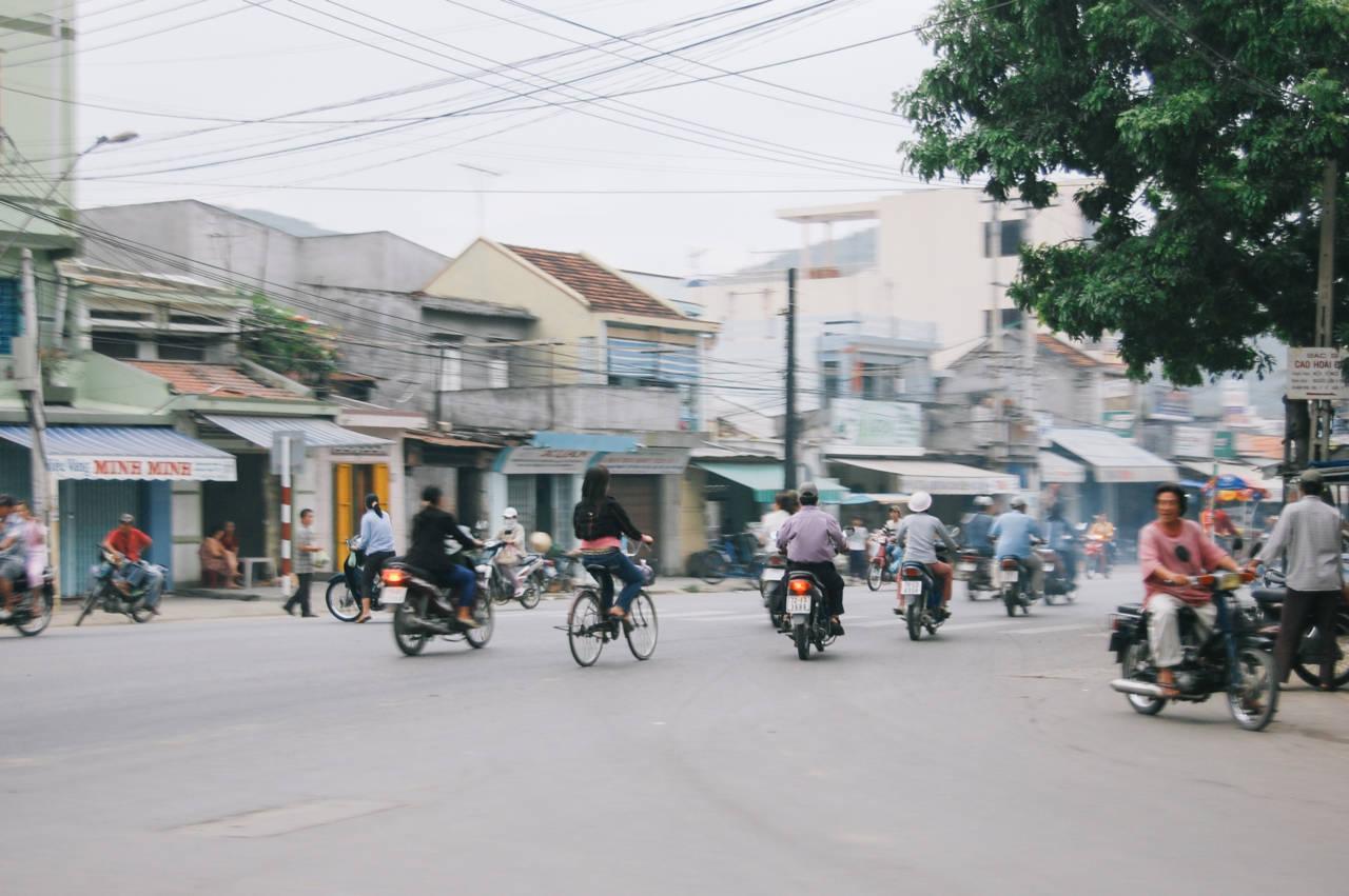 ニャチャンの街角