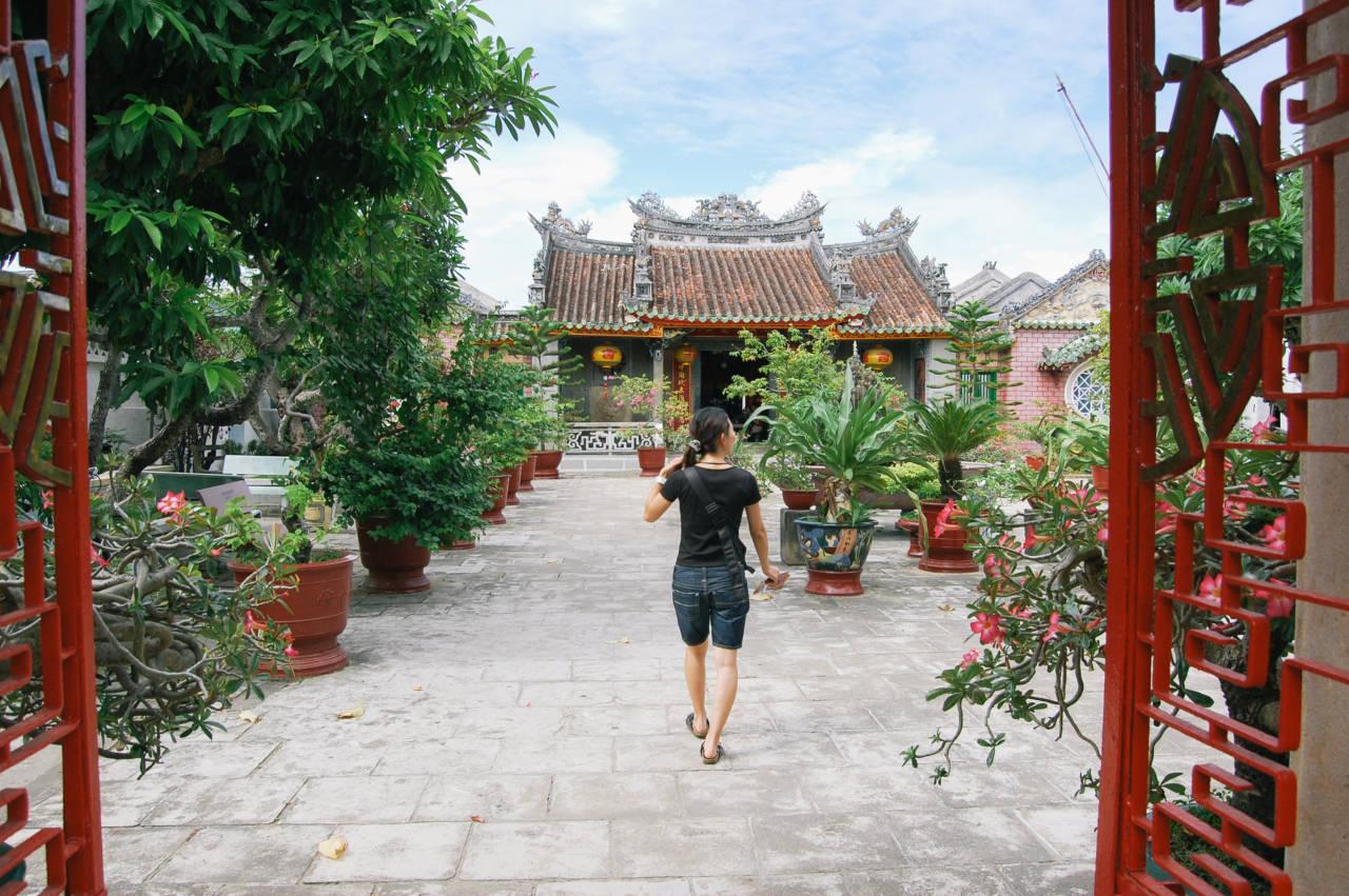 ホイアンの中華系会館