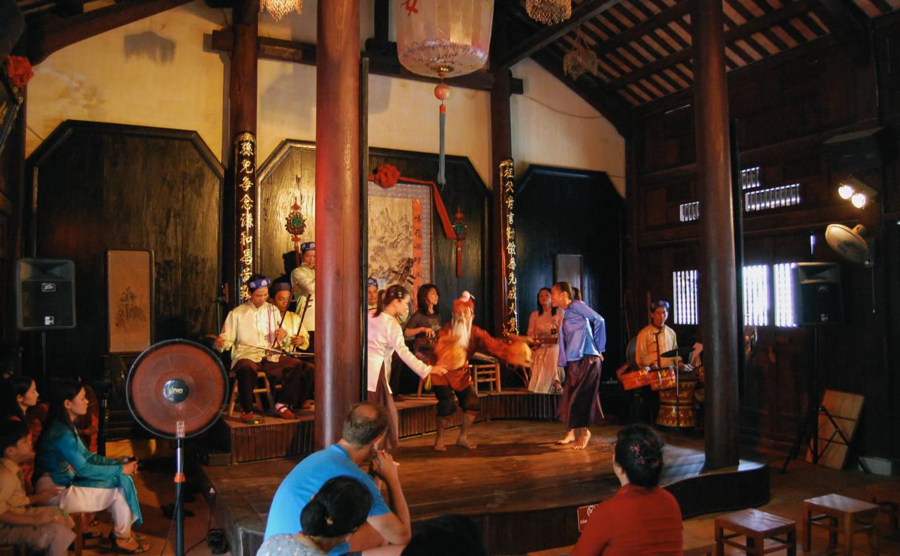 ホイアンの伝統舞踊