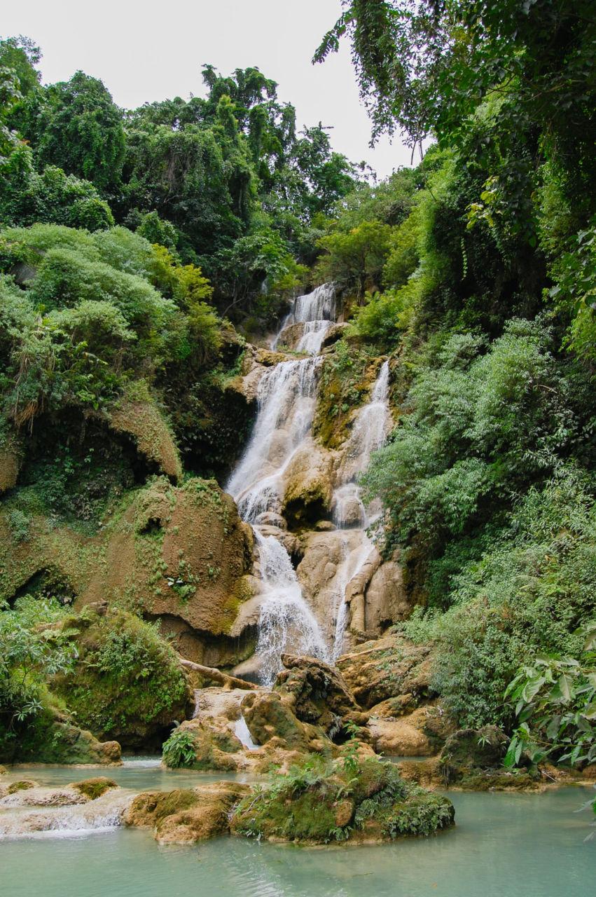 クアンシーの滝 全景