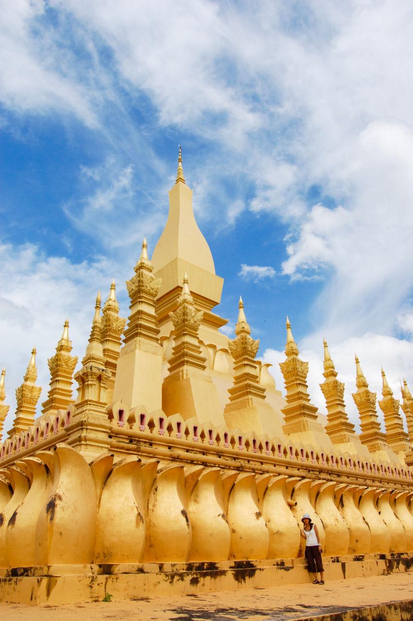 タート・ルアンの仏塔