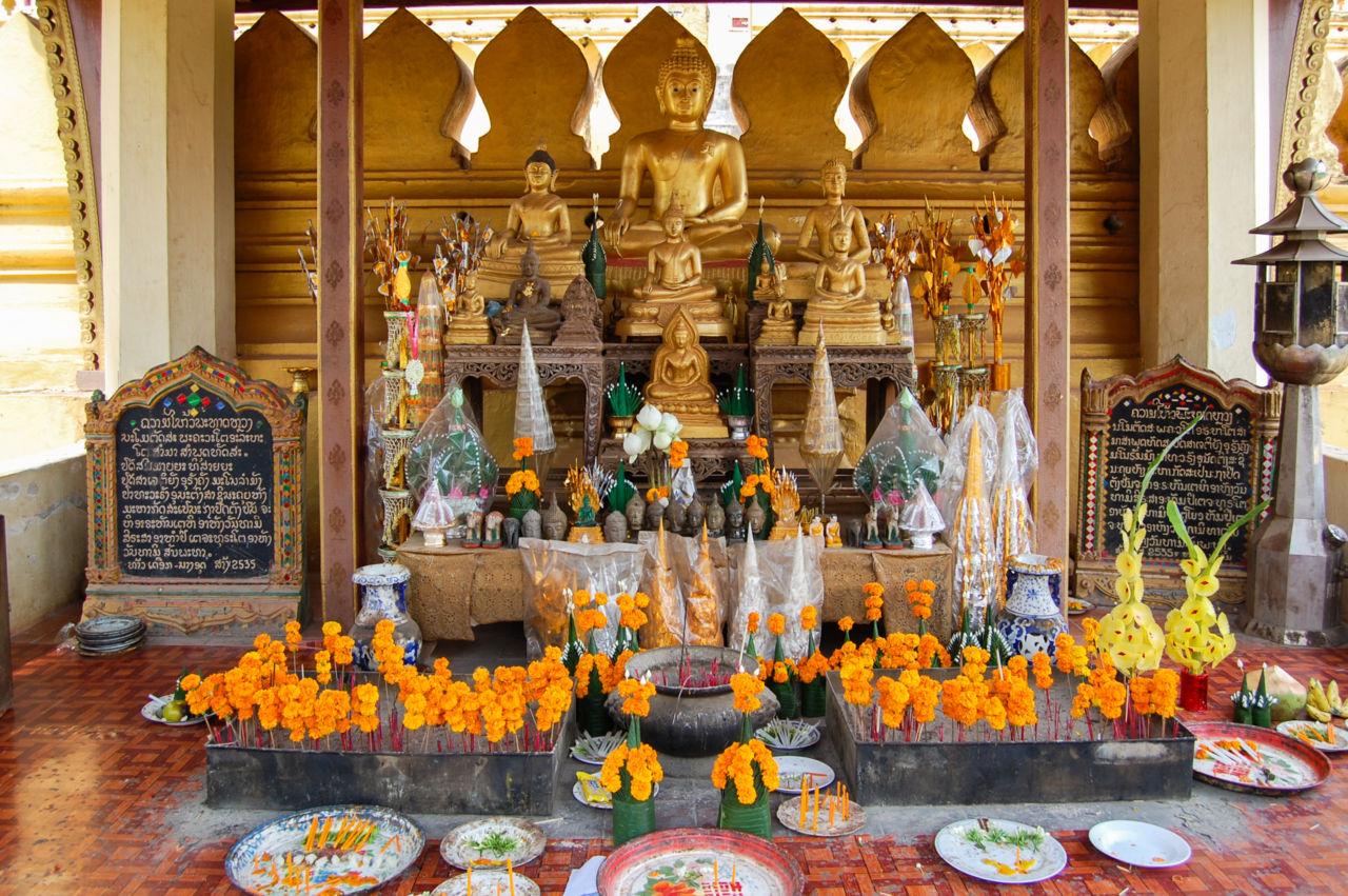 タート・ルアンの祭壇