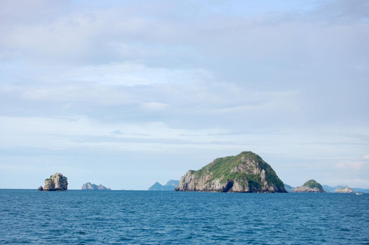 タイランド湾に浮かぶ小島