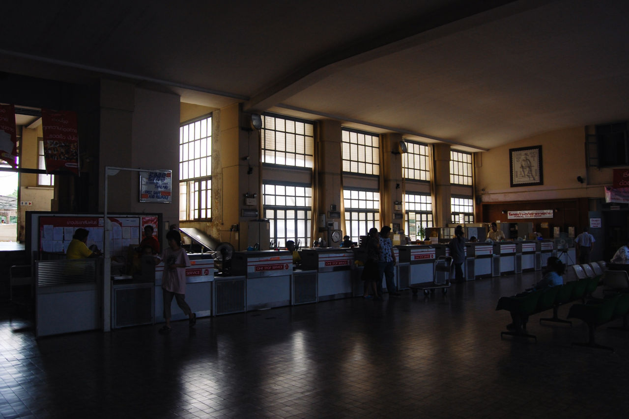 バンコク 中央郵便局の内部