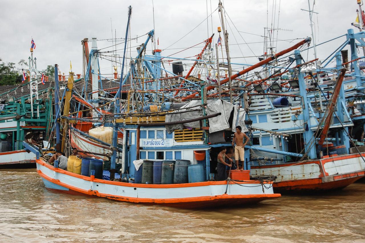 チュンポン 漁船
