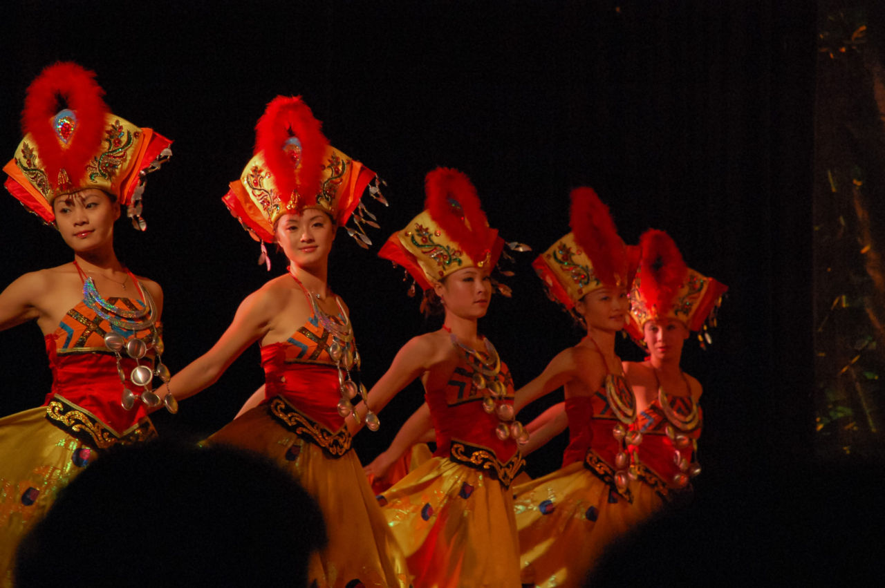 劉三姐ショー 踊り