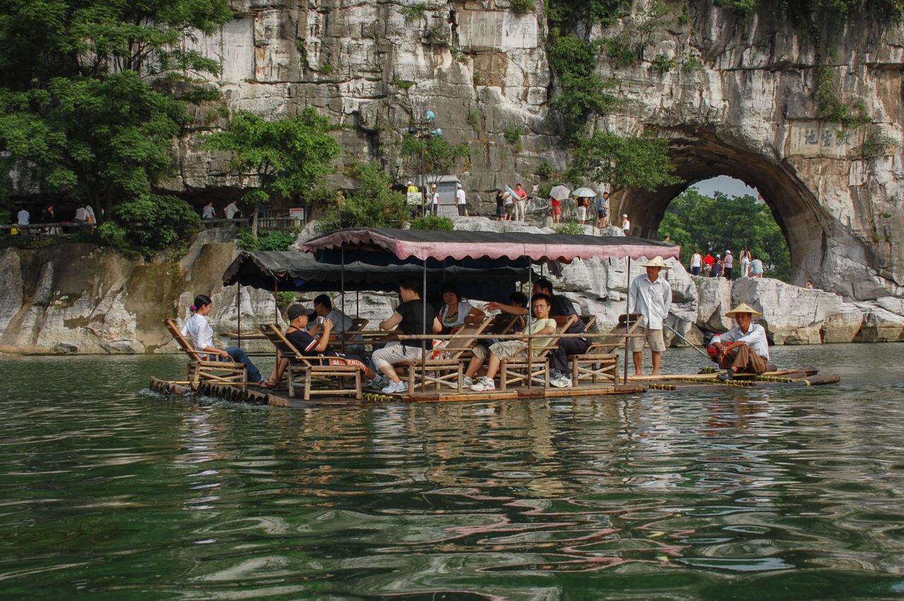 桂林 漓江下り