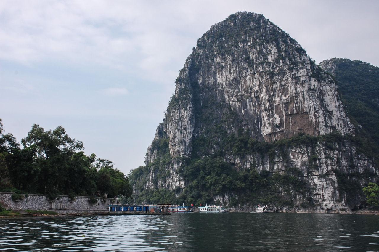 桂林 漓江 ボート乗り場