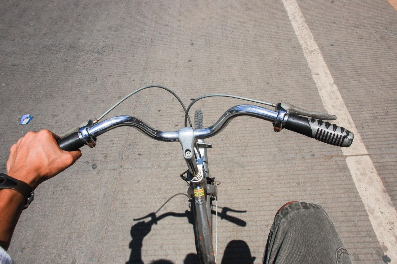 陽朔 レンタルした自転車