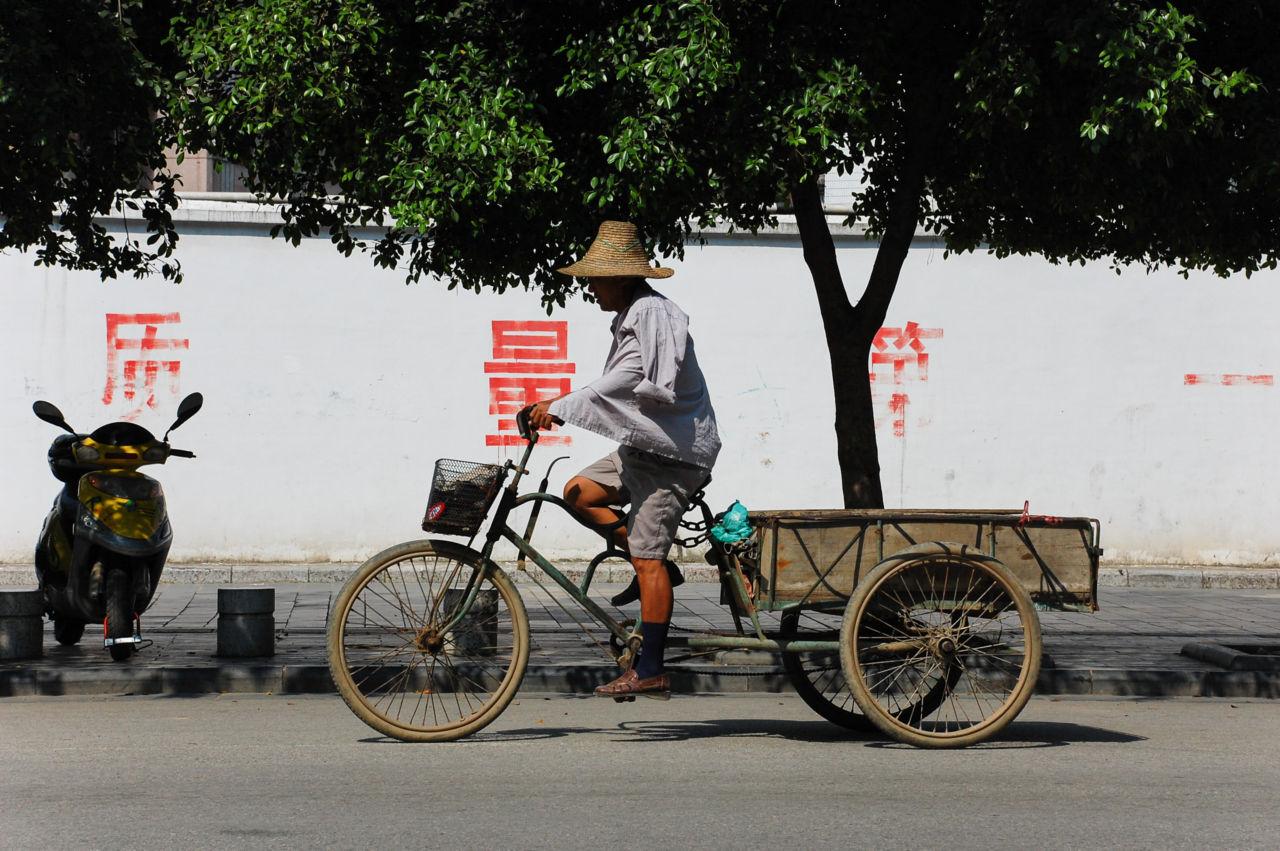 桂林 自転車 荷台