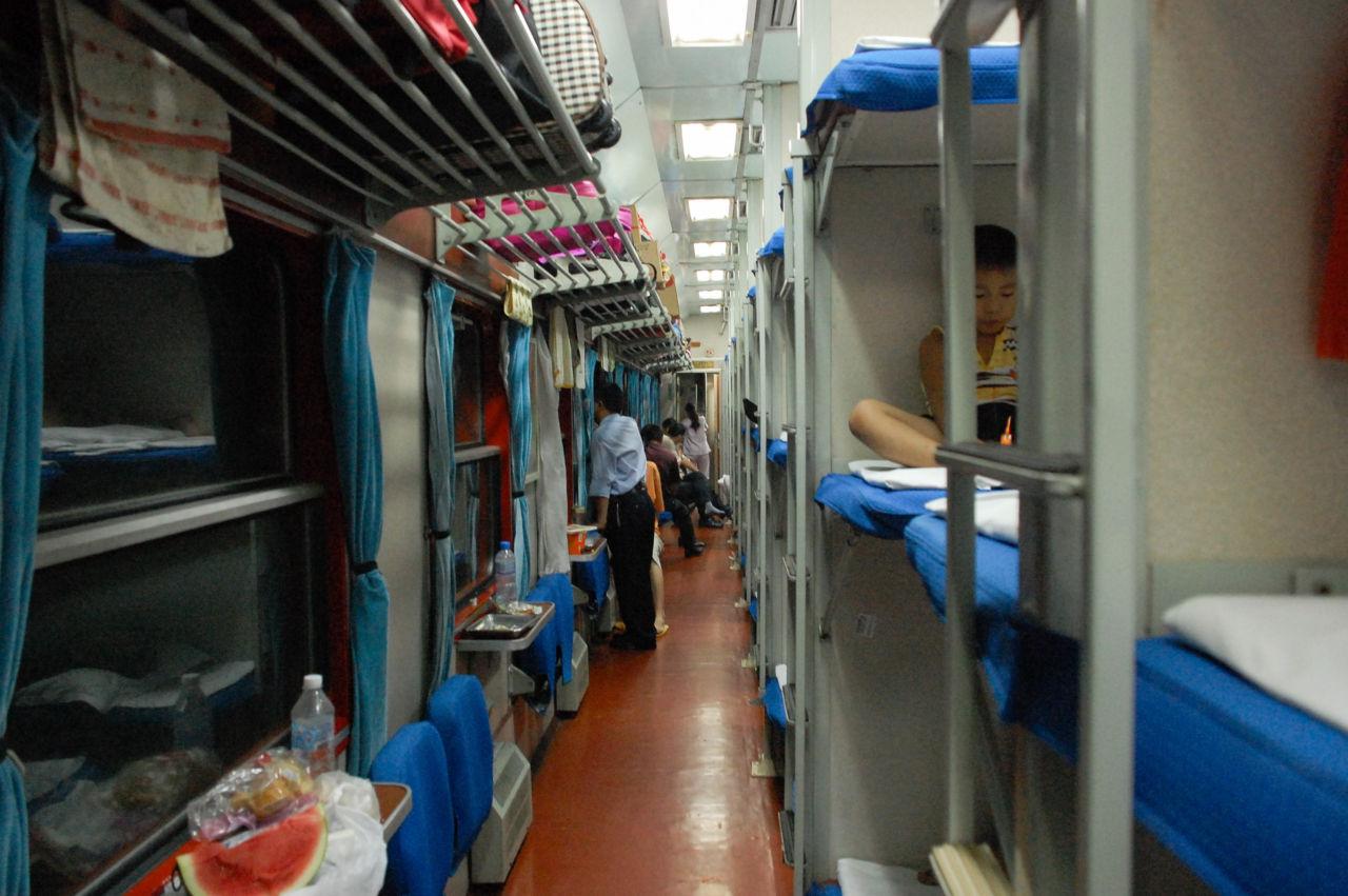 寝台列車 硬臥 中国の二等寝台