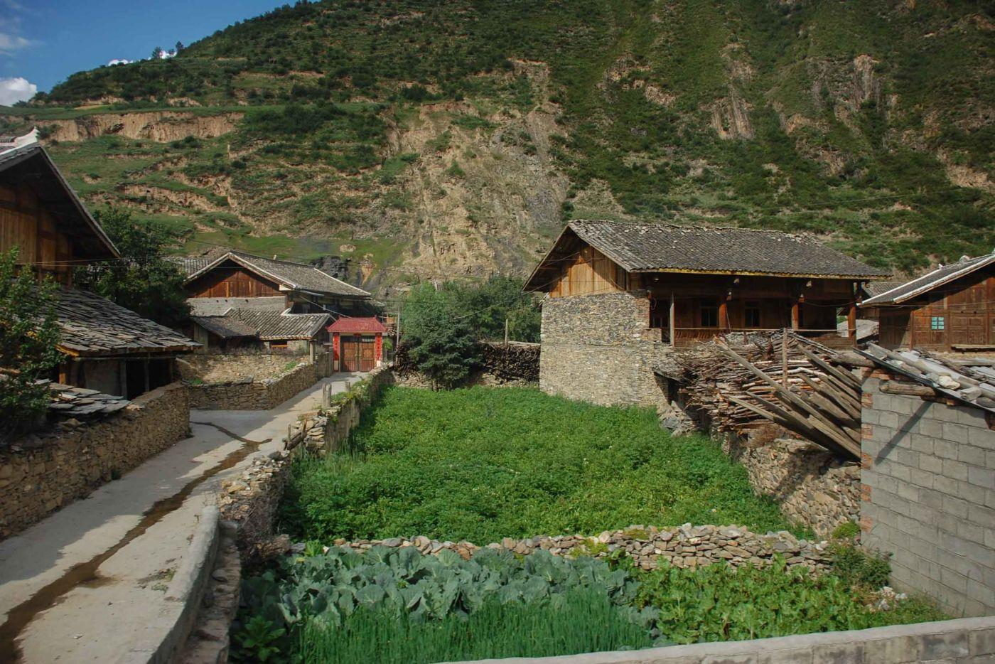 チャン族の集落