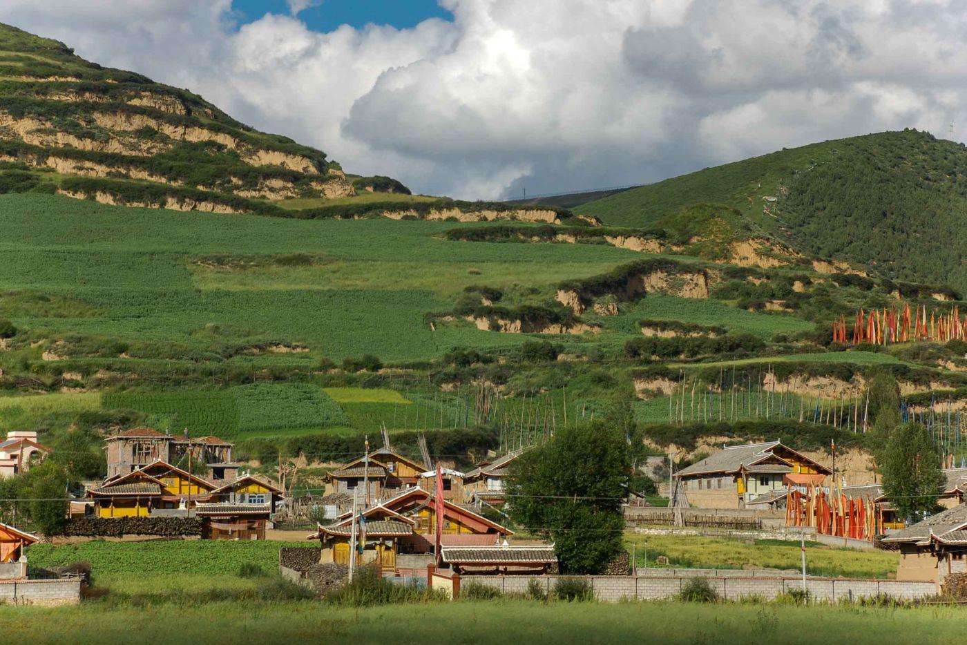 アバ・チベット族チャン族自治州の集落